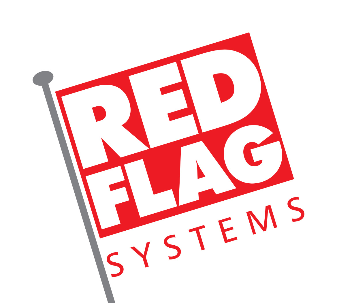 commercial security systems Red Flag Systems logo